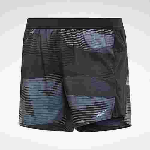 Reebok Run Essentials Shorts – 13cm Funktionsshorts Damen Schwarz