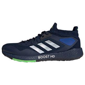 adidas Pulseboost HD Laufschuh Laufschuhe Herren Collegiate Navy / Night Metallic / Signal Green