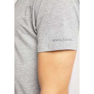 BRUNO BANANI T-Shirt Herren grau melange
