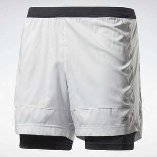 Reebok Running Essentials Two-in-One Shorts Funktionsshorts Herren Weiß