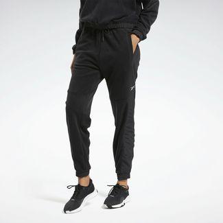 Reebok MYT Warm-up Pants Trainingshose Damen Schwarz