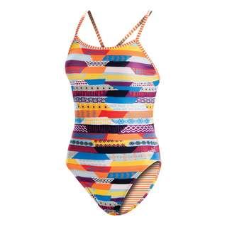 Dolfin Uglies Double Strap Back Schwimmanzug Damen Stripe Life