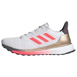 adidas Solarboost ST 19 Schuh Laufschuhe Damen Crystal White / Signal Pink / Copper Metallic