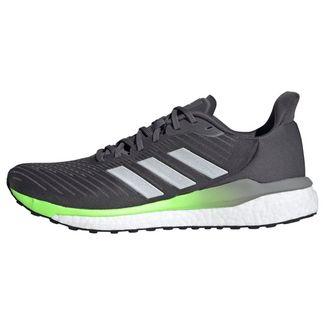 adidas Solardrive 19 Schuh Laufschuhe Herren Grey Five / Silver Metallic / Signal Green