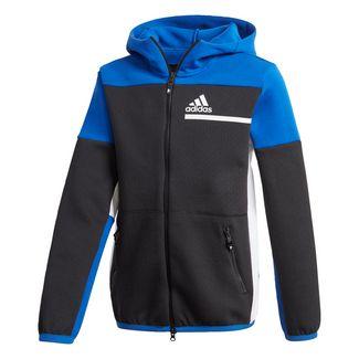 adidas adidas Z.N.E. Hoodie Sweatjacke Kinder Black / Royal Blue