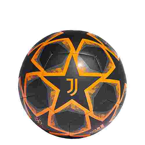 adidas UCL Finale 20 Juventus Turin Club Ball Fußball Herren Black / Grey Six / Bahia Orange