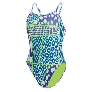 Dolfin Uglies Double Strap Back Schwimmanzug Damen Wild Thing