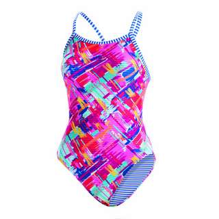 Dolfin Uglies V-2 Back Schwimmanzug Damen Basket Case