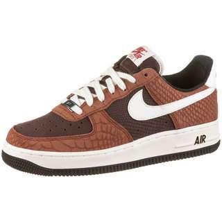 Nike Air Force 1 Premium Sneaker Damen red bark-sail-earth-university red