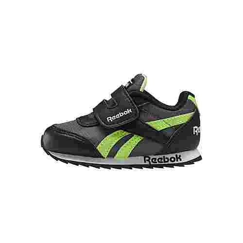 Reebok Reebok Royal Classic Jogger 2.0 Shoes Sneaker Kinder Black / Cold Grey 6 / Solar Green