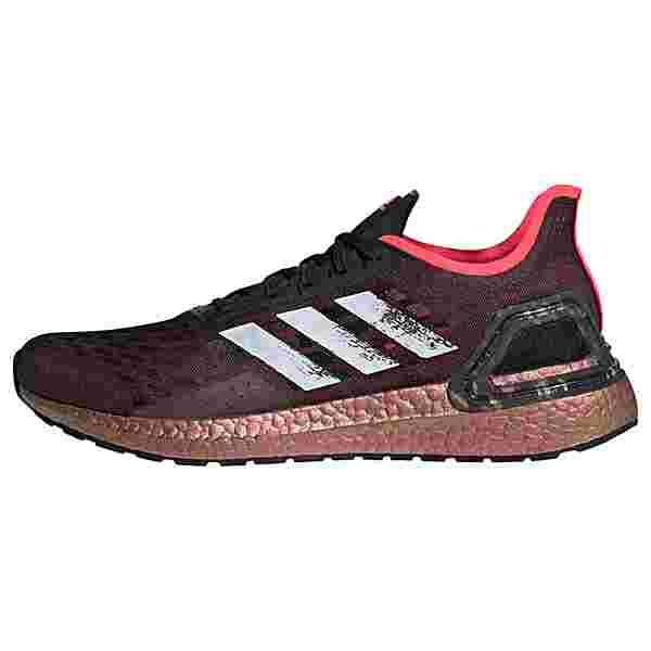 adidas Ultraboost PB Laufschuh Laufschuhe Herren Core Black / Cloud White / Signal Pink / Coral