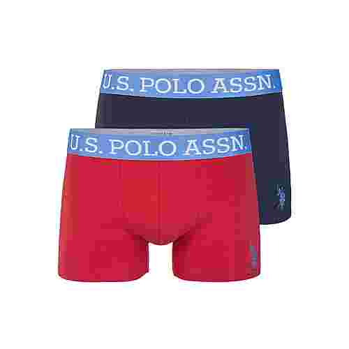U.S. Polo Assn. US16133_02 colourful Boxer Herren navy red