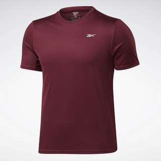 Reebok Running Essentials Shirt Laufshirt Herren Weinrot