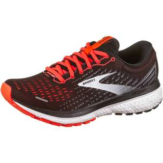 Brooks Ghost 13 Laufschuhe Damen black-ebony-coral