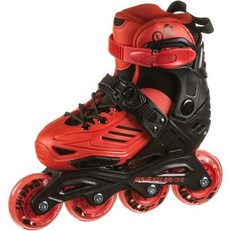 POWERSLIDE Khann JR LTD II Fitness Skates Kinder red-black