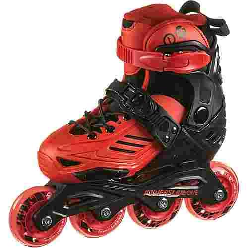 POWERSLIDE Khann JR LTD II Fitness Skates Kinder red-black