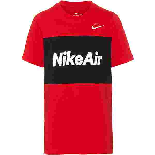 Nike NSW AIR T-Shirt Kinder university red-black
