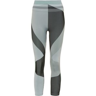 Nike Tights Damen grey fog-black