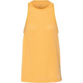 Nike Funktionstank Damen topaz gold
