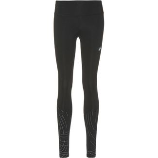 ASICS NIGHT TRACK Lauftights Damen performance black