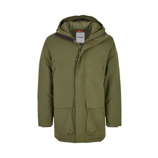 Cleptomanicx Parkistan Funktionsjacke Herren Rifle Green