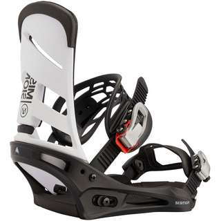 Burton Mission Re:Flex Binding Snowboardbindung white/black