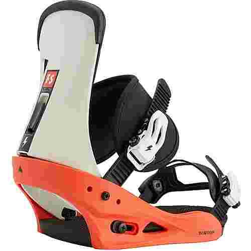 Burton Freestyle Snowboardbindung Herren red/white/black