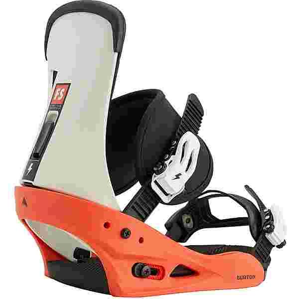 Burton Freestyle Snowboardbindung Herren red-white-black