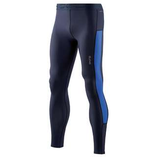 Skins DNAmic Thermal Long Tights Tights Herren Navy Blue/Bright Blue
