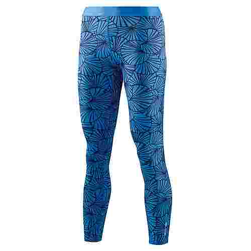 Skins DNAmic 7/8 Tights Tights Damen Graphic Sunfeather Blue