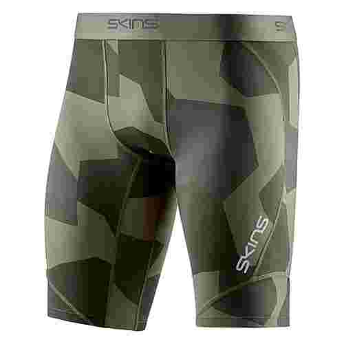 Skins DNAmic 1/2 Tights Tights Herren Small Camo Utility
