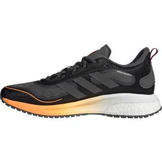 adidas Supernova Cold.Ready Laufschuhe Herren core black-night met.-signal orange