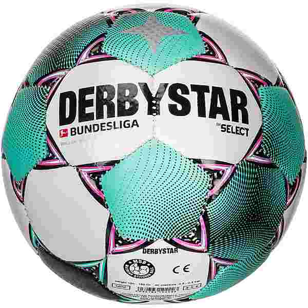 Derbystar BL Brillant Mini Miniball weiß pink grün