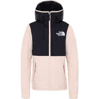The North Face Skijacke Damen morning pink/tnf black