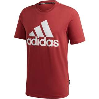 adidas Bade of Sport Essentials T-Shirt Herren legacy red