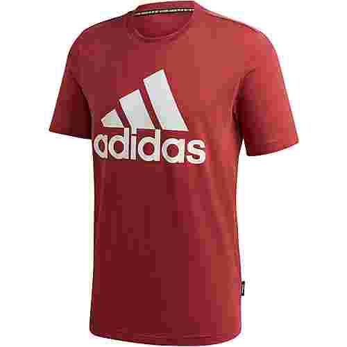 adidas Badge of Sport T-Shirt Herren legacy red