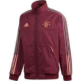 adidas Manchester United Trainingsjacke Herren maroon