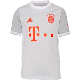 adidas FC Bayern 20-21 Auswärts Trikot Kinder dash grey
