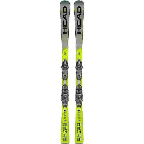 HEAD Supershape i.Speed SW + PRD 12 GW All-Mountain Ski schwarz-grau-gelb