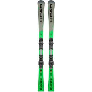 HEAD Supershape i.Magnum SW + PRD 12 GW All-Mountain Ski schwarz-grau-grün