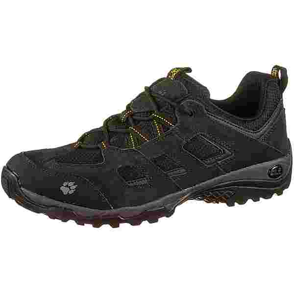 Jack Wolfskin VOJO HIKE 2 LOW Wanderschuhe Herren black-burly yellow xt