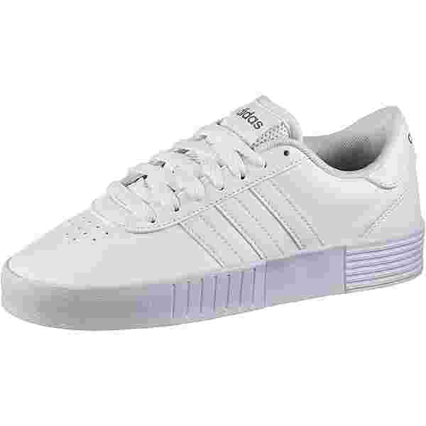 adidas Court Bold Sneaker Damen ftwr white-ftwr white-silver met.