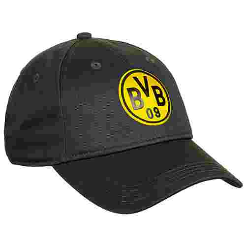 PUMA Borussia Dortmund ftblCulture Cap dunkelgrau / gelb