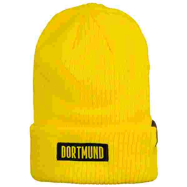 PUMA Borussia Dortmund ftblCulture Bronx Beanie gelb / schwarz