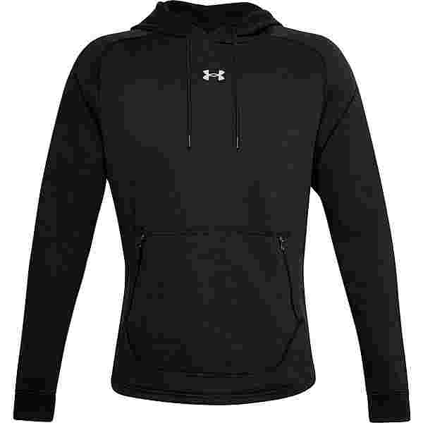 Under Armour Charged Hoodie Herren black-halo gray