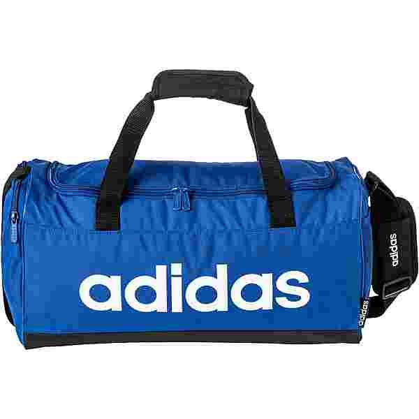 adidas LINEAR DUFFLE S Sporttasche team royal blue
