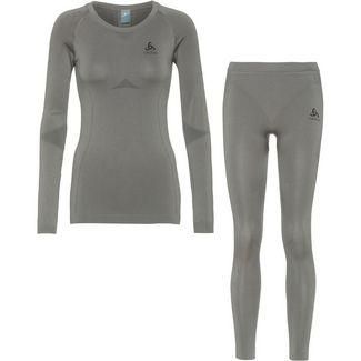 Odlo PERFORMANCE EVOLUTION LIGHT Wäscheset Damen steel grey graphite grey