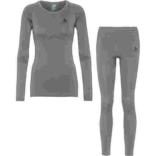 Odlo PERFORMANCE EVOLUTION LIGHT Wäscheset Damen steel grey graphite grey