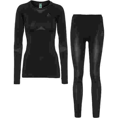 Odlo PERFORMANCE EVOLUTION LIGHT Wäscheset Damen black graphite grey