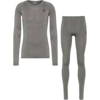 Odlo PERFORMANCE EVOLUTION LIGHT Wäscheset Herren steel grey graphite grey